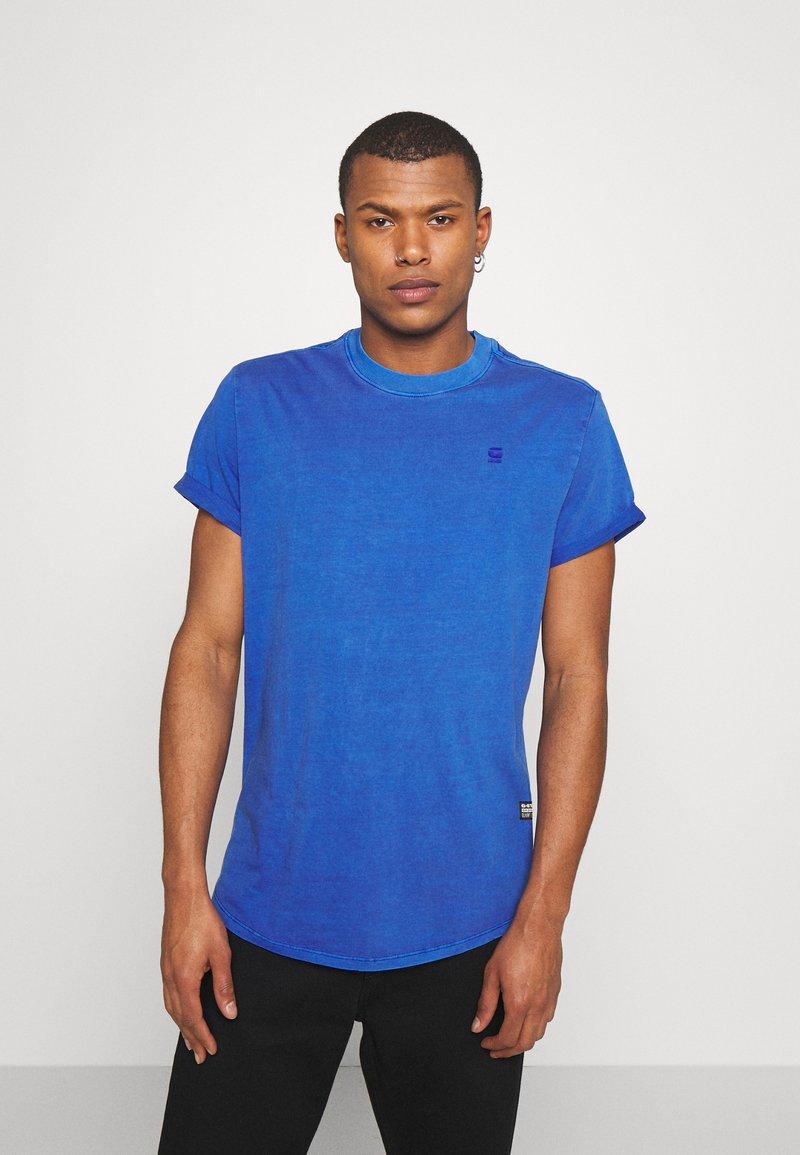 G-Star - LASH  - Jednoduché triko - blue