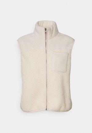 PCSADIE VEST - Waistcoat - whitecap gray