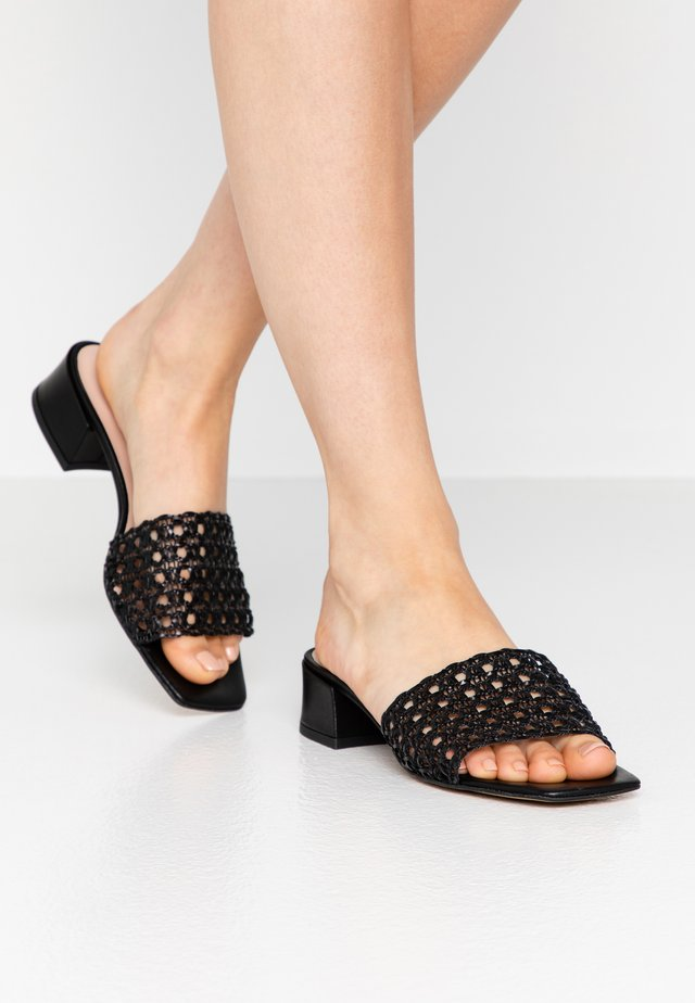SUNSHINE - Mules - black