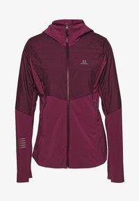 Salomon - OUTSPEED INSULATED - Outdoor jacket - winetasting - 0