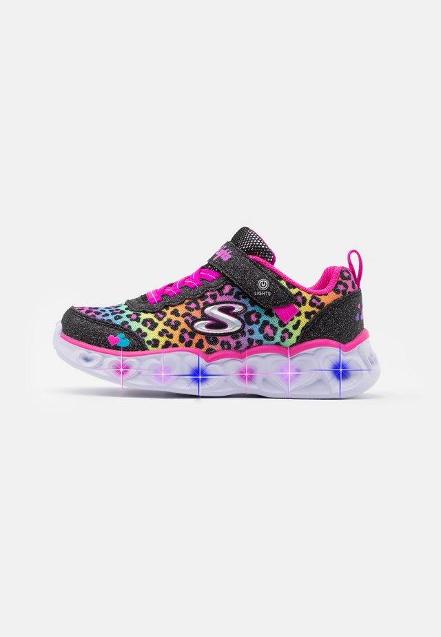 HEART LIGHTS - Sneakers laag - black/multicolor
