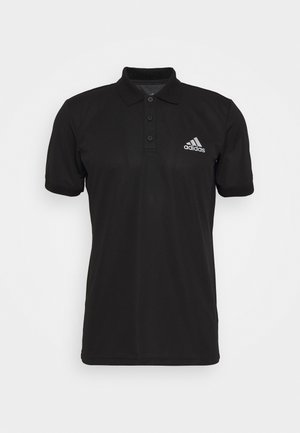 AEROREADY SPORTS TENNIS SHORT SLEEVE - Sports shirt - black