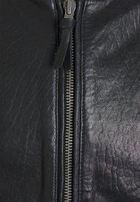 Superdry - Leather jacket - black - 2