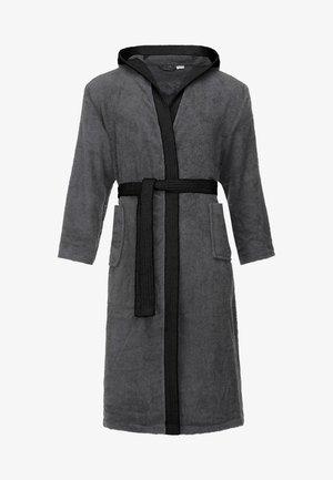 Dressing gown - darkgrey/black