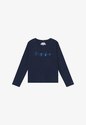 VINYL - Long sleeved top - blue