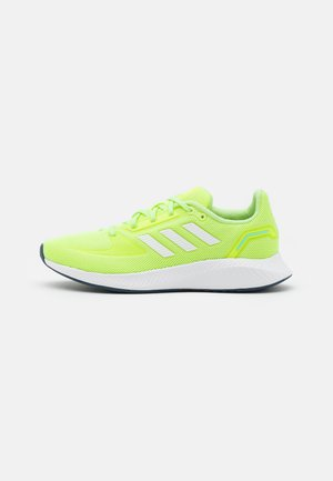 RUNFALCON 2.0 - Zapatillas de running neutras - hi-res yellow/footwear white/hazy sky
