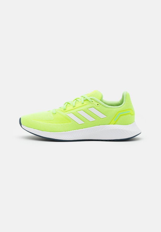 RUN 2.0 - Obuwie do biegania treningowe - hi-res yellow/footwear white/hazy sky