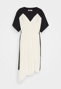 MM6 Maison Margiela - DRESS - Cocktail dress / Party dress - black/off white - 6