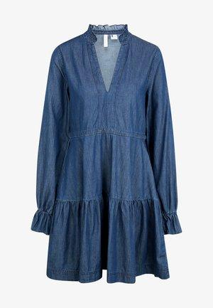 VACATIONER - Spijkerjurk - dusty blue