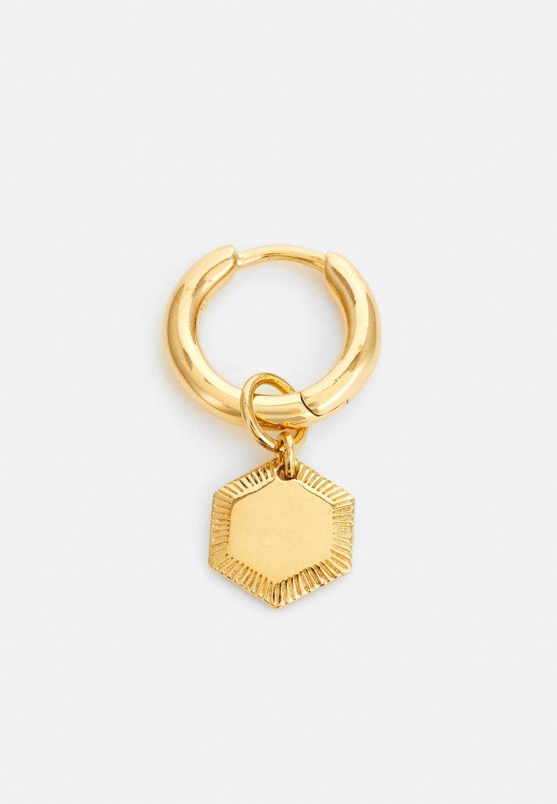 Maria Black - RAVELLO HOOP - Earrings - gold-coloured