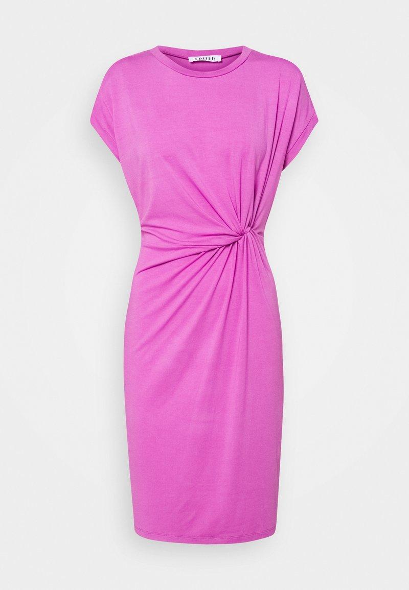 EDITED - FAITH DRESS - Jersey dress - bodacious pink