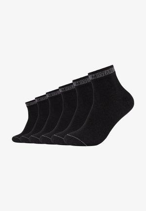 6 PACK - Socks - black