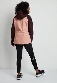The North Face - STRATOS JACKET - Hardshell jacket - pinkclay/root - 2