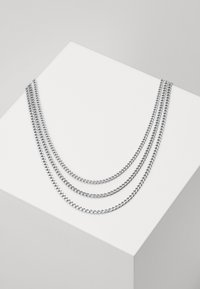 Vitaly - MIAMI UNISEX 3 PACK - Necklace - silver-coloured - 0