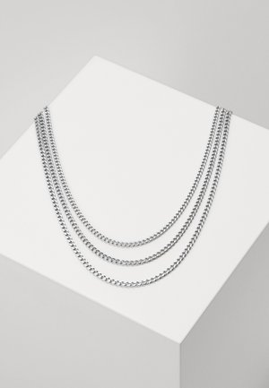 MIAMI UNISEX 3 PACK - Necklace - silver-coloured