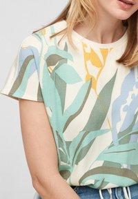 s.Oliver - Print T-shirt - mint - 2