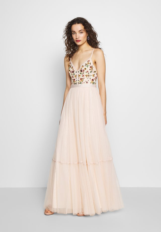 MAGDALENA BODICE CAMI GOWN EXCLUSIVE - Robe de cocktail - meadow pink