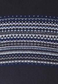Hackett London - FAIRISLE ROLL NECK - Jumper - multi blue - 5