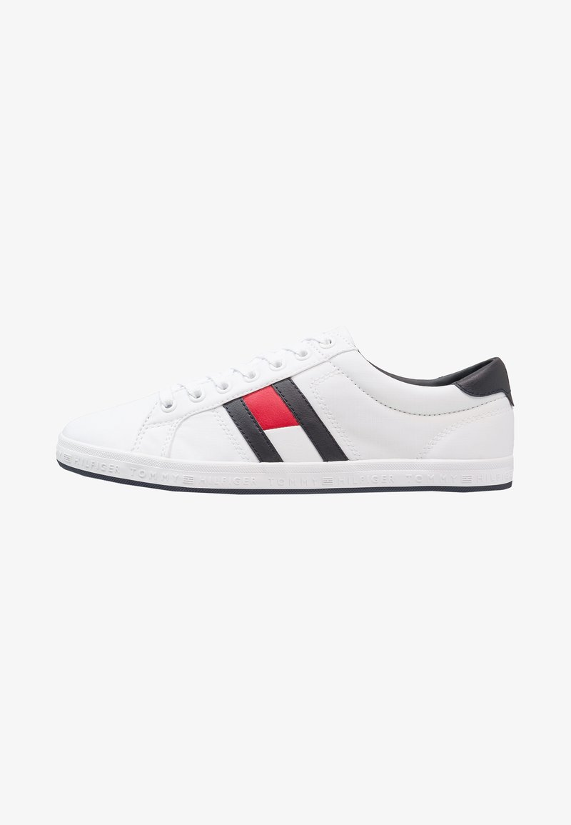 Tommy Hilfiger - ESSENTIAL FLAG DETAIL - Trainers - white