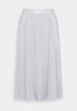 SPARKLE PLEATED SKIRT - Áčková sukně - grey matter