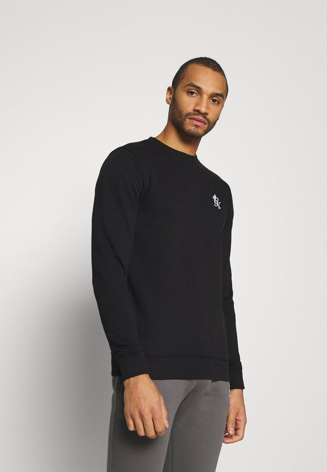 BASIS CREW  - Sweater - black