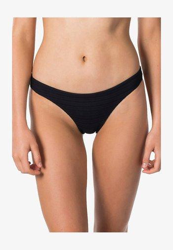 PREMIUM SURF GOOD - Bikini bottoms - black
