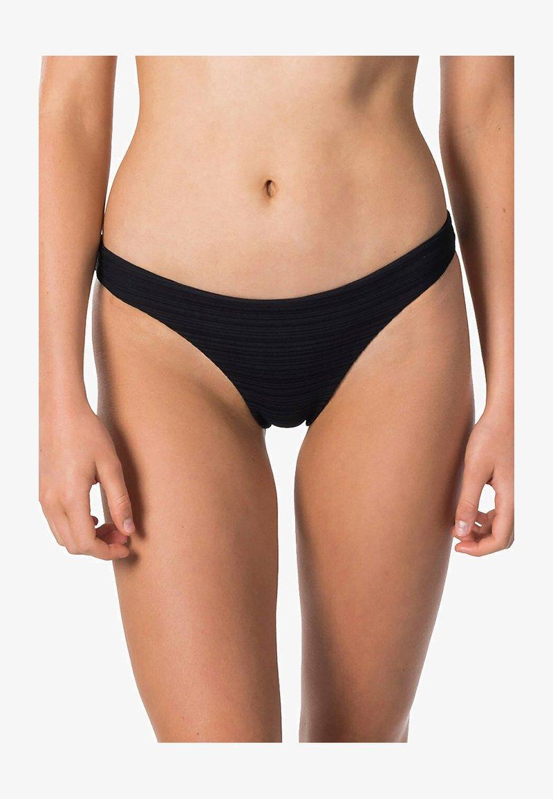 Rip Curl - PREMIUM SURF GOOD - Bikini bottoms - black