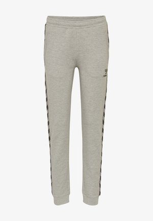 HMLMOVE CLASSIC  - Tracksuit bottoms - grey melange