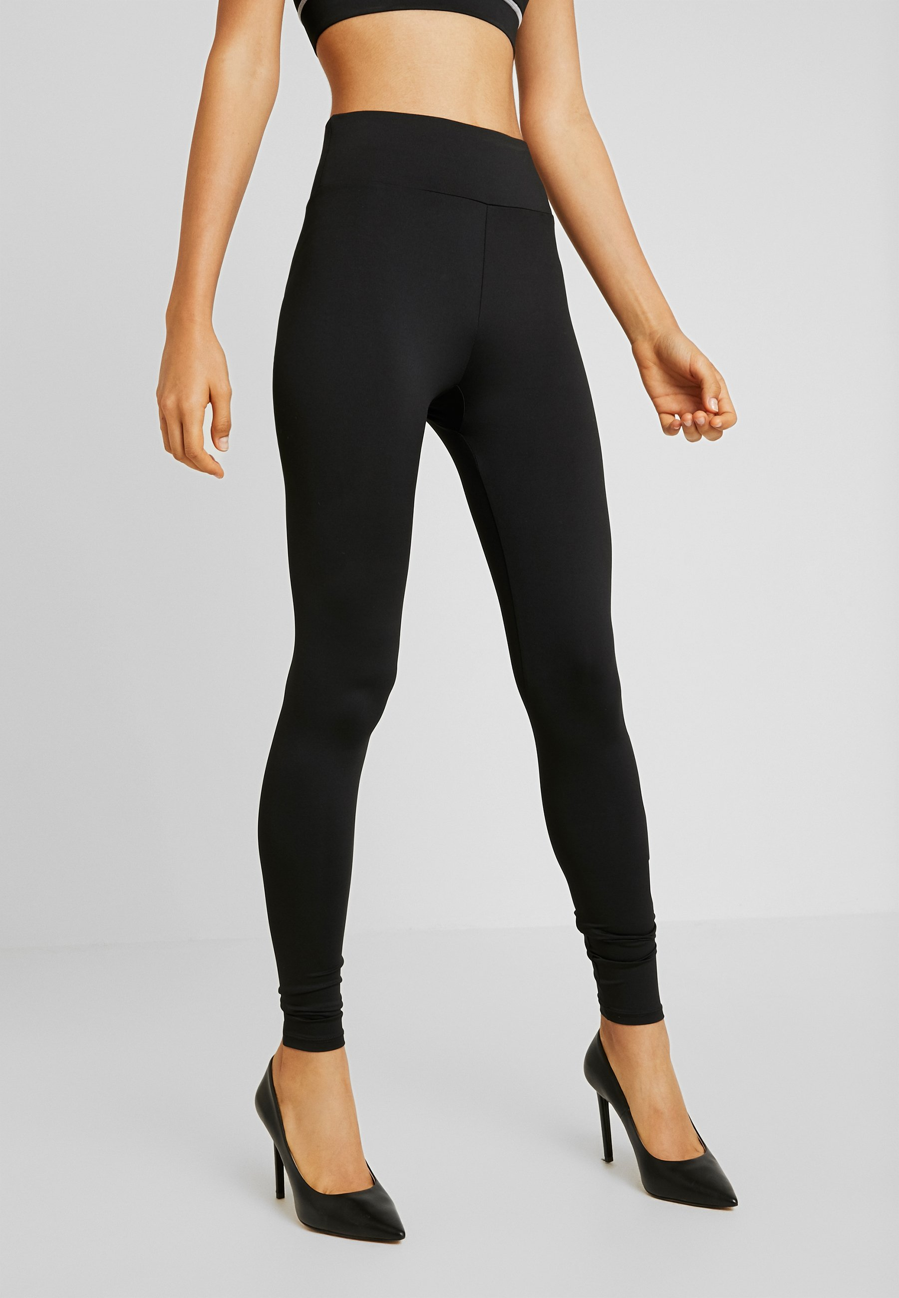 Missguided Full Length Jersey Leggings