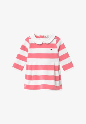 BABY RUGBY STRIPE - Day dress - pink
