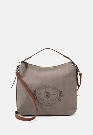 VICTORIA HOBO - Across body bag - brown