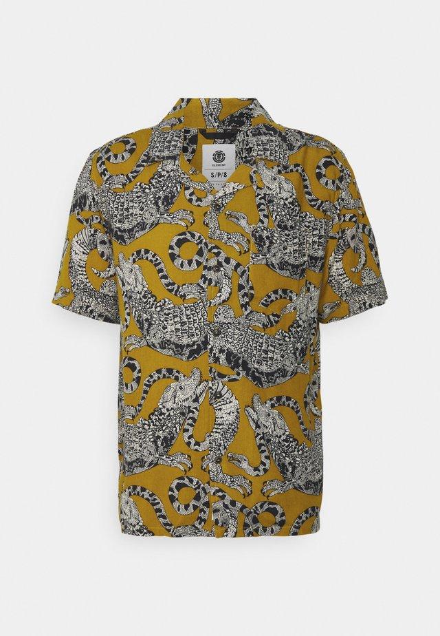 LIZARD - Shirt - yellow/multi-coloured