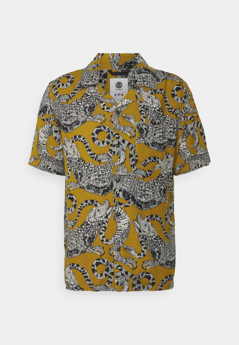 Element - LIZARD - Shirt - yellow/multi-coloured