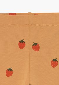 TINYCOTTONS - STRAWBERRIES PANT - Legíny - toffee/red - 3