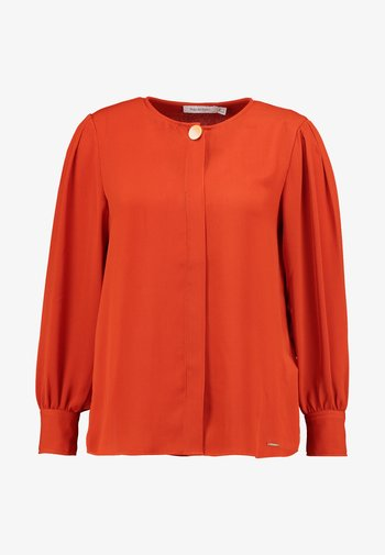 LONG SLEEVE BLOUSE WITH BUTTON