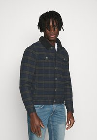 Redefined Rebel - JONES JACKET - Jeansjacka - dark olive - 0