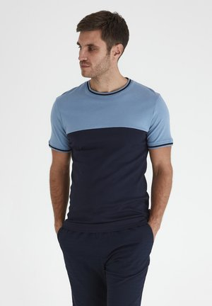 TOANFRED  - T-shirt print - blue shadow