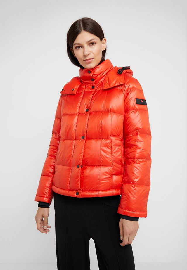 WATER REPELLENT BRYCE  - Down jacket - red