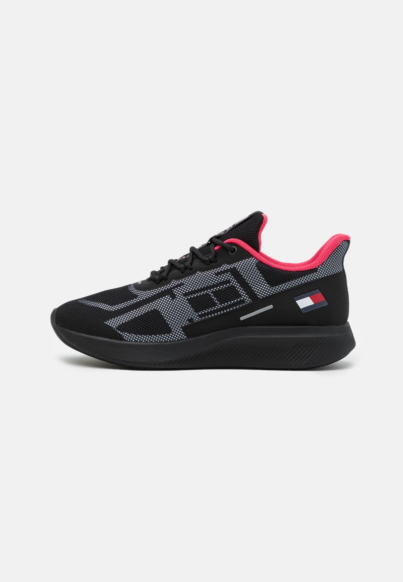 Tommy Hilfiger - PRO 1 WOMEN - Neutral running shoes - black