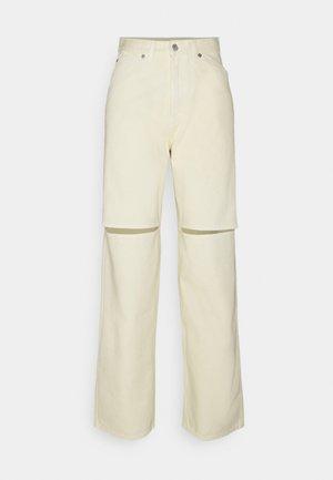 BRAE TROUSERS - Straight leg jeans - vanilla