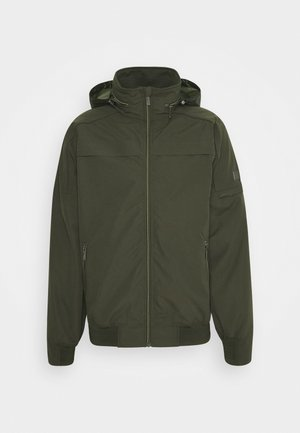 MONTEL - Waterproof jacket - dark khaki