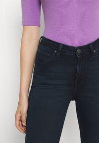 Lee - SCARLETT HIGH ZIP - Jeans Skinny Fit - dark lea - 4