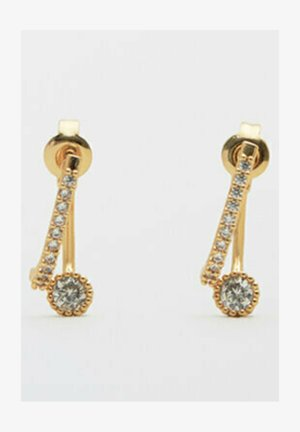 MIT STRASS  - Earrings - gold