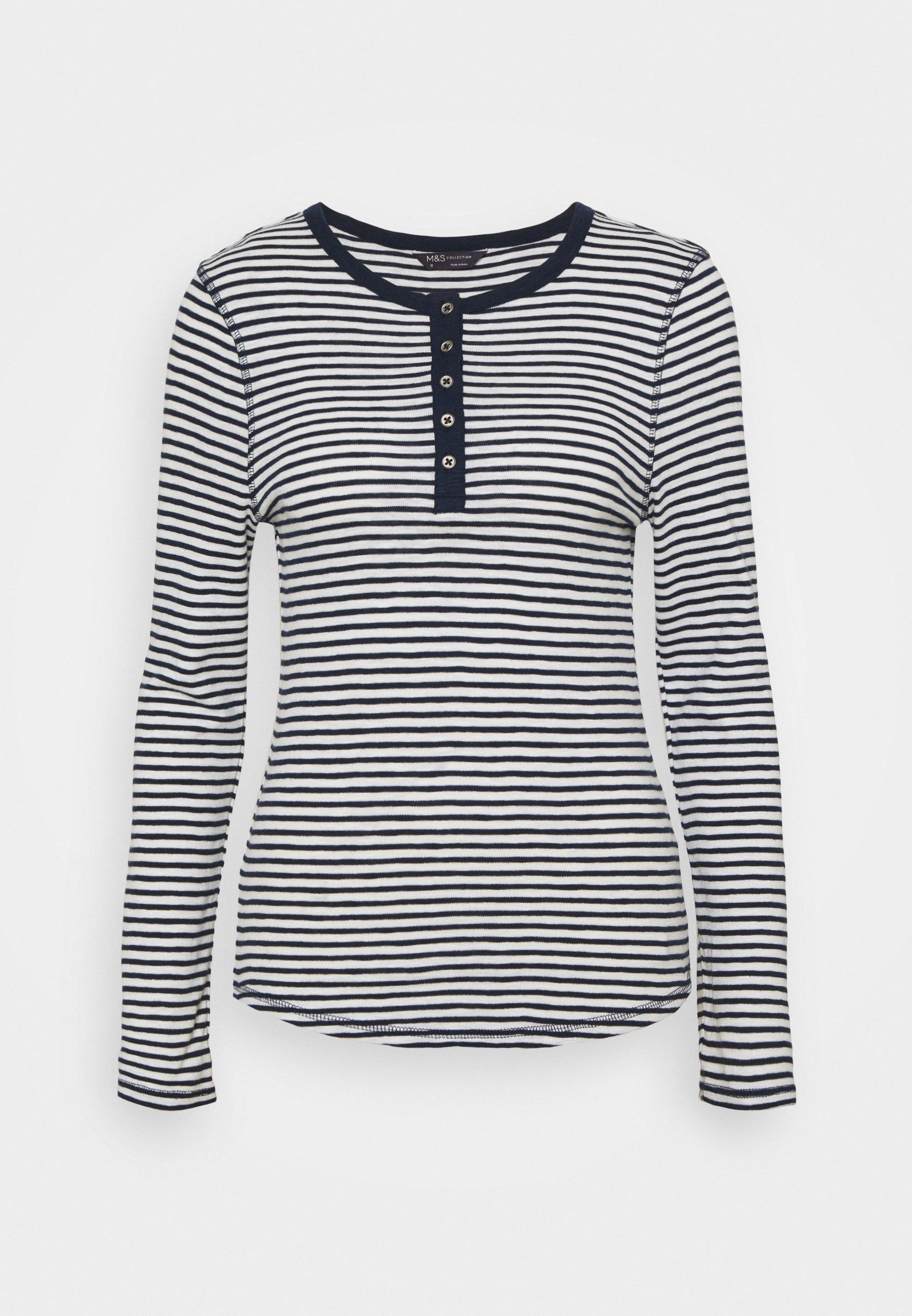 Damen SCOOP HENLEY - Langarmshirt