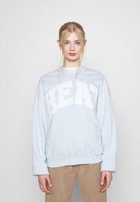 Weekday - PAM  - Sweatshirt - light blue - 0