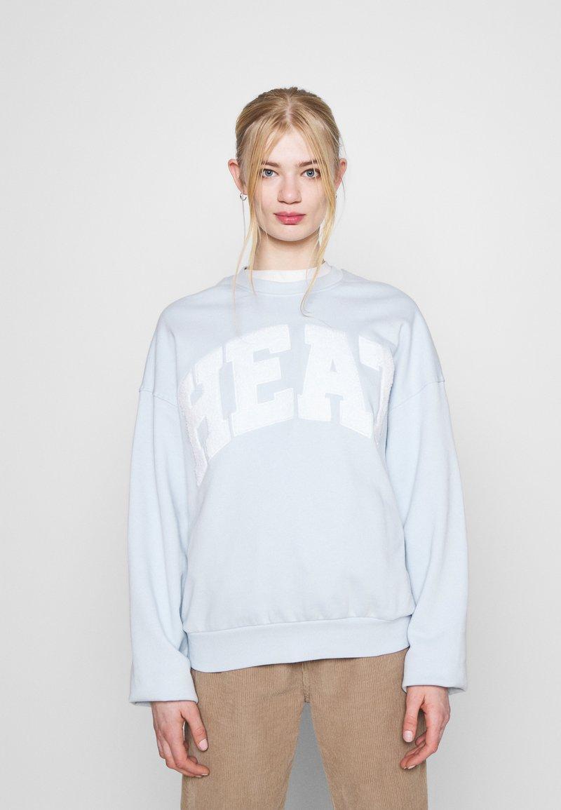 Weekday - PAM  - Sweatshirt - light blue