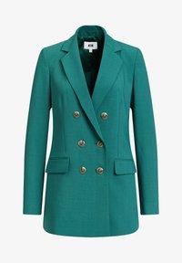 WE Fashion - Halflange jas - green - 5