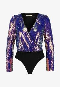 Glamorous Petite - SEQUIN BODYSUIT - Bluser - purple - 4