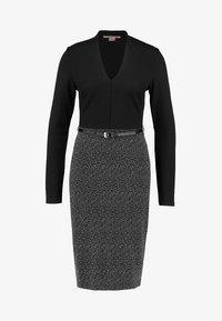 Anna Field - Shift dress - offwhite/black - 4