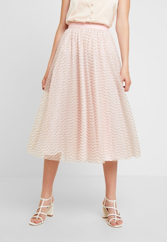 SKIRT - Gonna a pieghe - pink